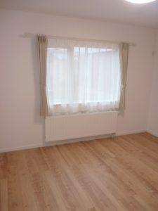 子供部屋<br>2階の床はメープル系の床をセレクトしました。可愛いですね。